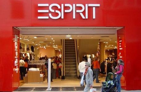 Esprit retail store front
