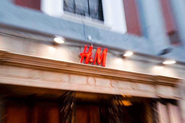 H&M store exterior