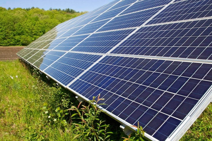 solar panels climate change