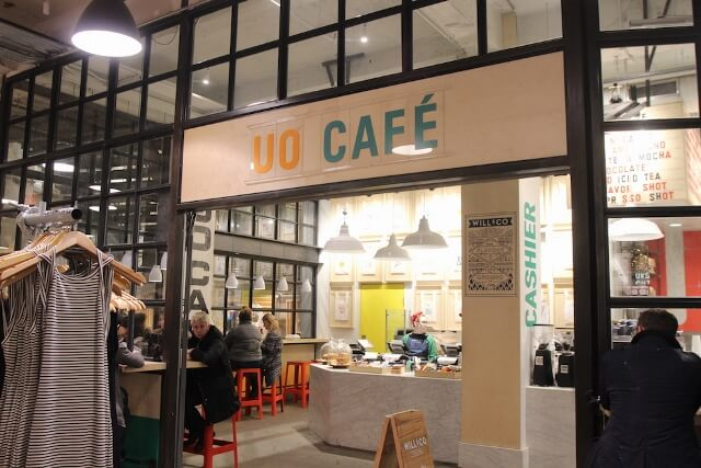 UO Cafe at Urban Outfitters