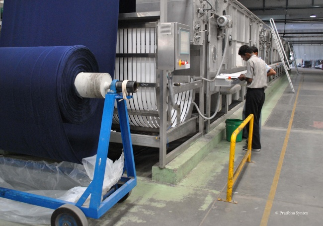 Pratibha Syntex fabric mill in India. Fabric mills were added to the BCI traceability system in 2015.