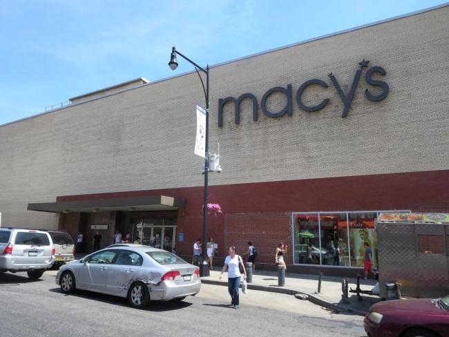 Macy's store in Flushing, New York