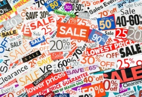 Retail on Sale: Promotional Orders Are Up 63%