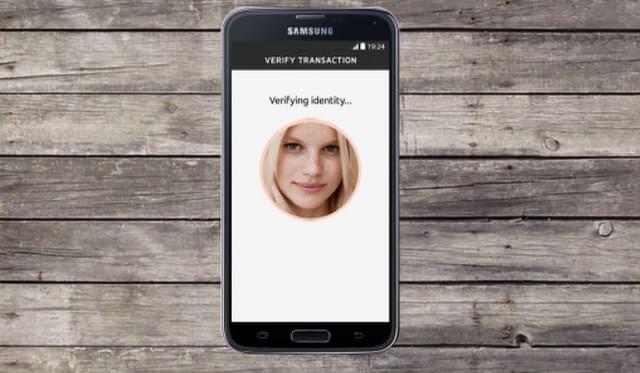 MasterCard selfie payment