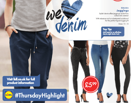 Lidl We Love Denim