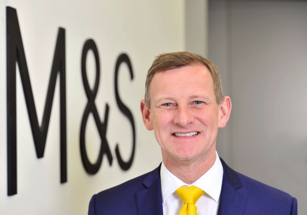 Steve Rowe M&S CEO