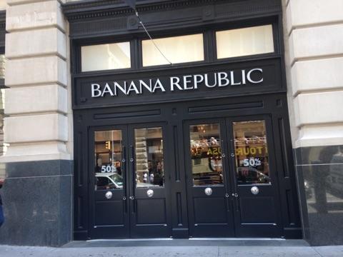 banana republic sales associate duties