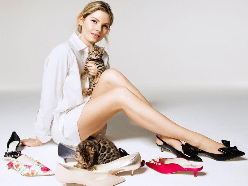 Butter kitten heels