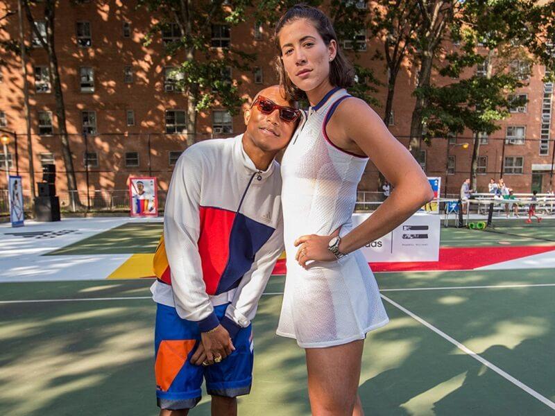pharrel tennis