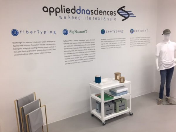 Applied DNA Awarded US Patent on its Cotton FiberTyping Technology