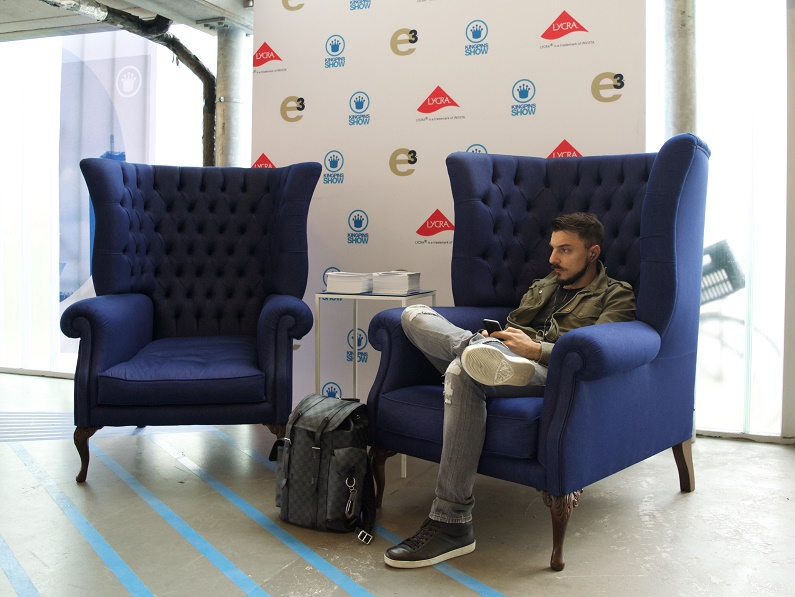 Sitting Pretty: Berto U0026 Lenzing Create Denim Chairs