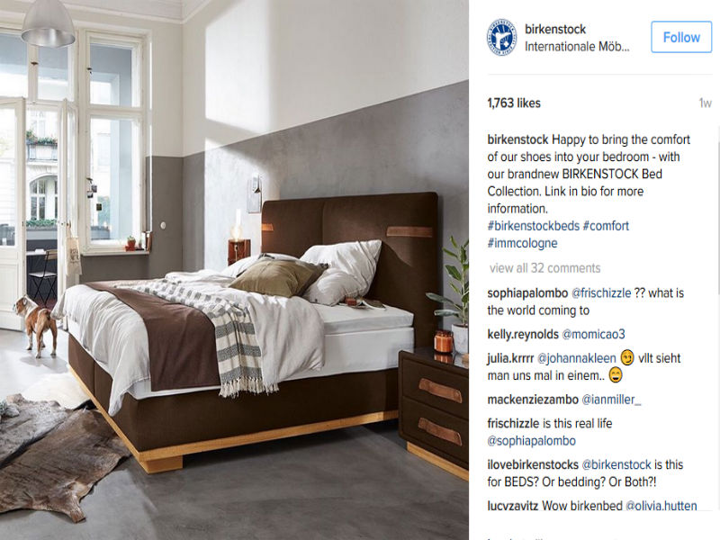 From Footbeds to Beds, Birkenstock Launches Home Goods – Sourcing ...