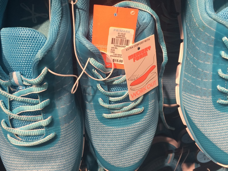 Primark retail store front