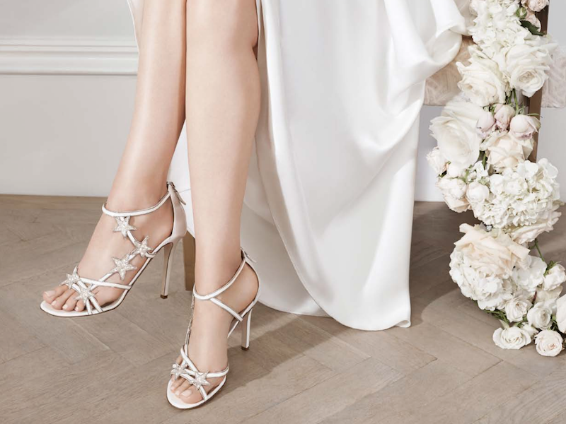 Here Comes The Bride In Fabulous Footwear Sourcing Journal