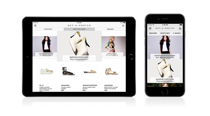 9cad4d1d78fda Net-a-Porter Launches Photo Sharing and Luxury Shopping App ...