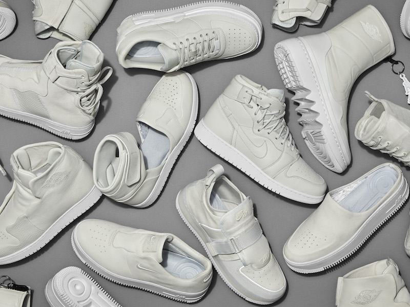 premium selection 3574c a6fe5 Fourteen female Nike designers took on the project to reimagine the Nike  Air Force 1 and Air Jordan 1 in two weeks. The result is a 10-piece  collection that ...