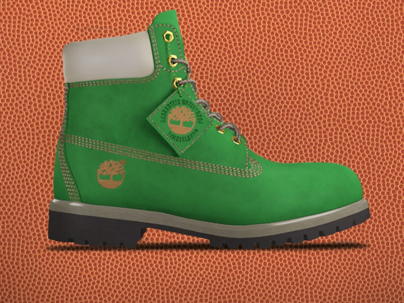 e9988a69c38 Timberland Joins in on March Madness Fun With Customization ...