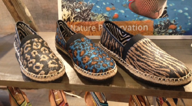 452341bc92e4 Espadrille specialist Joy   Mario are joining paws with the World Wildlife  Fund (WWF) for two limited edition capsule collections for spring inspired  by the ...