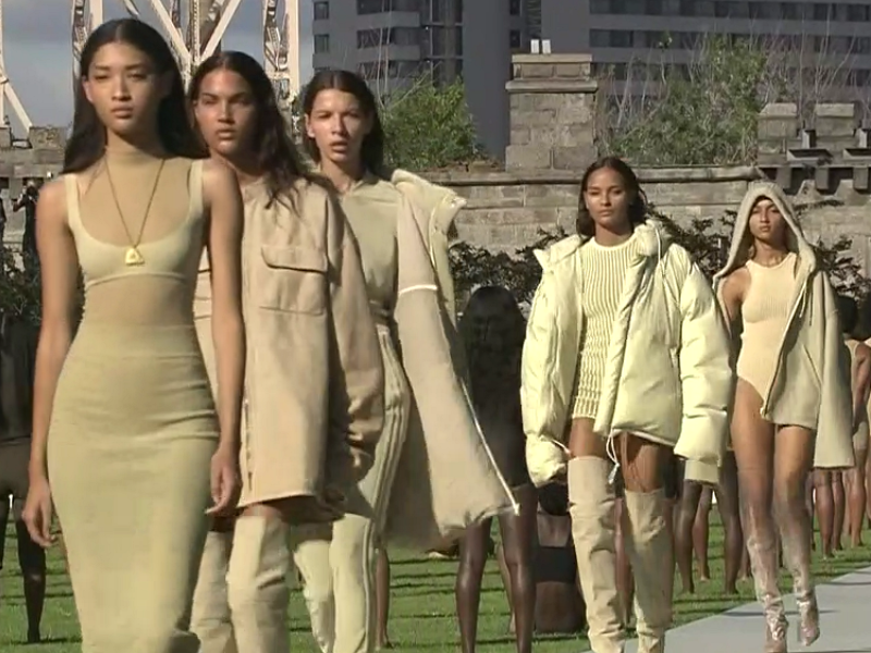 fab97bf415ddb Models Abandon Shoes During Yeezy Season 4 Show – Sourcing Journal
