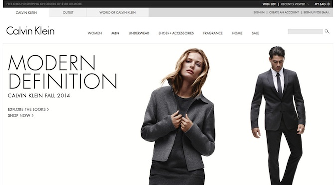 CALVIN KLEIN OUTLET WEBSITE