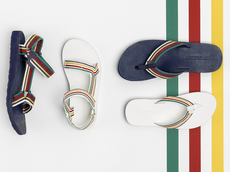d48d471ee Teva Teams Up With Hudson s Bay for Limited-Edition Sandals ...