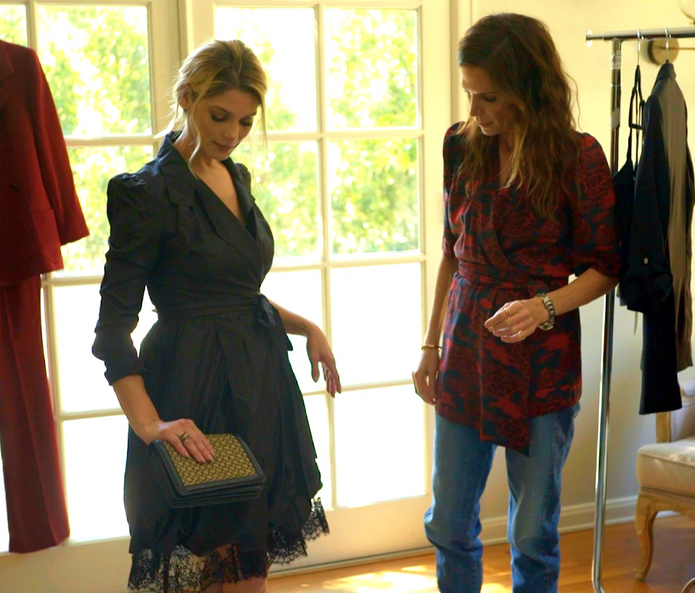"Actress Ashley Greene and her stylist, Cristina Ehrlich, talk fashion in an episode of ""Click My Closet."""