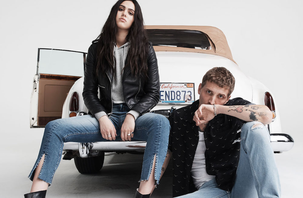 male and female model