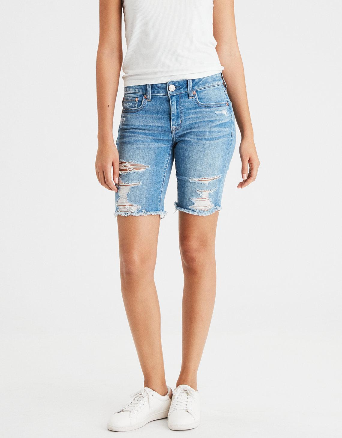 Skinny Bermuda shorts