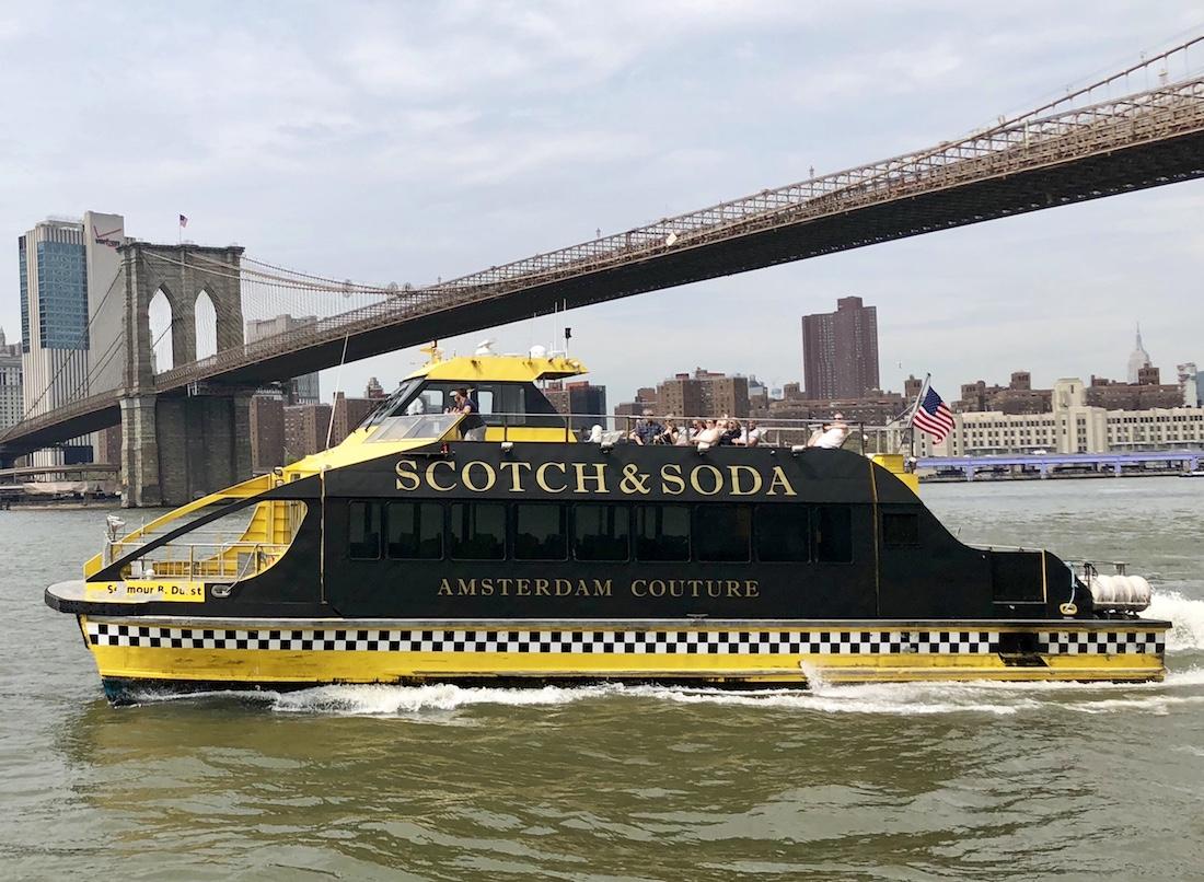 Scotch & Soda boat
