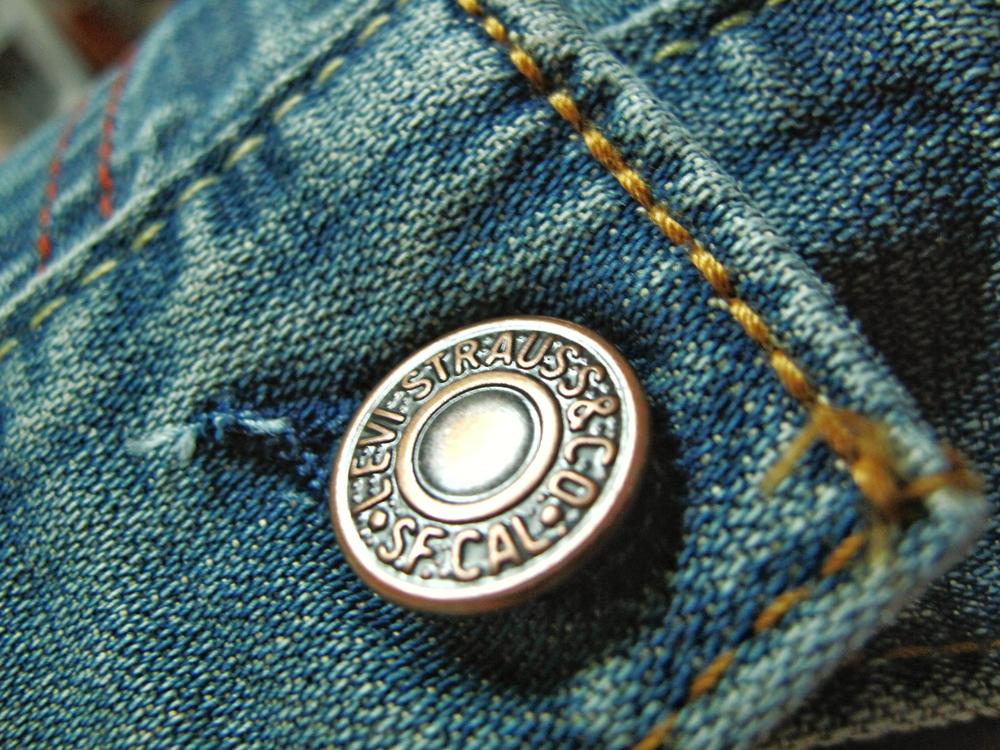 Levi's button