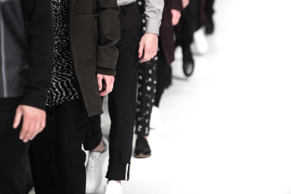 Men's fashion on the runway