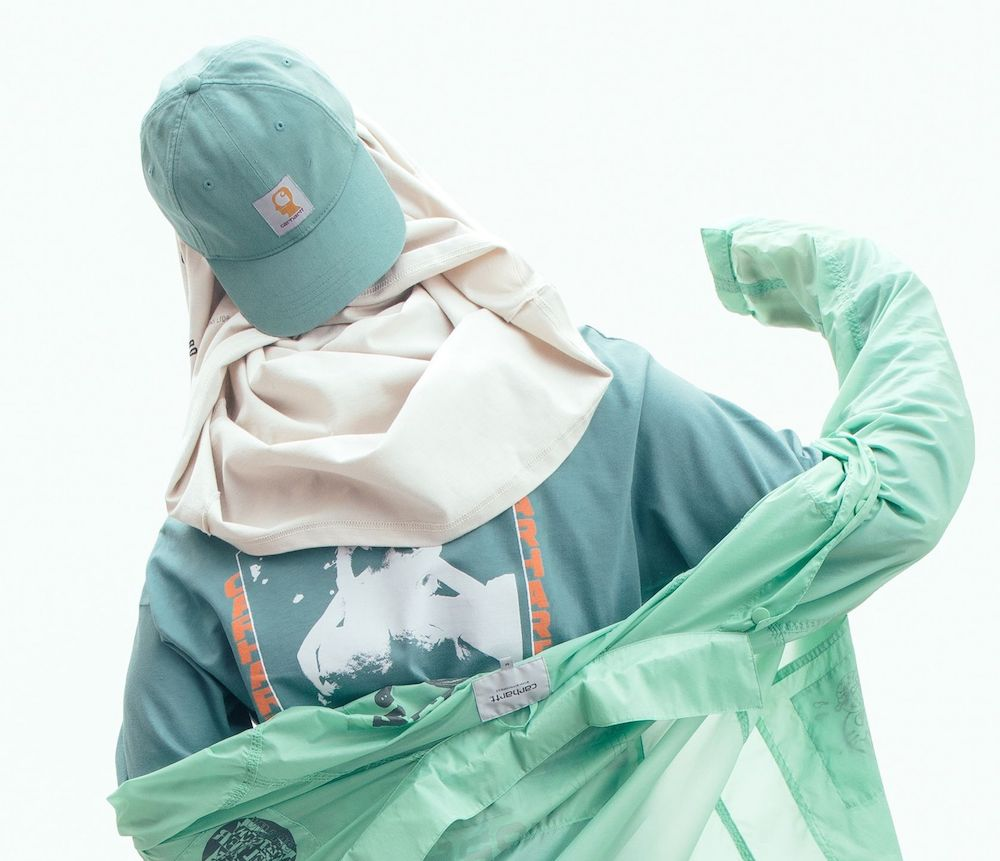 mint green clothing
