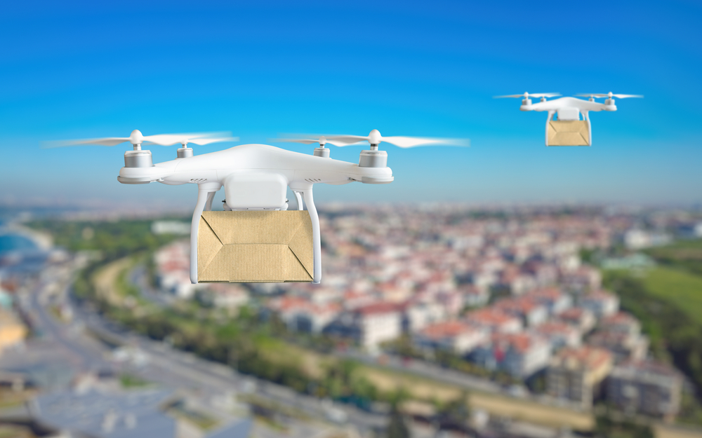 The more permissive regulatory environment in China is helping the country take a lead with commercial drone deliveries.