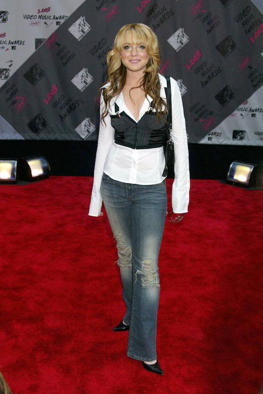 Lindsay Lohan in2003