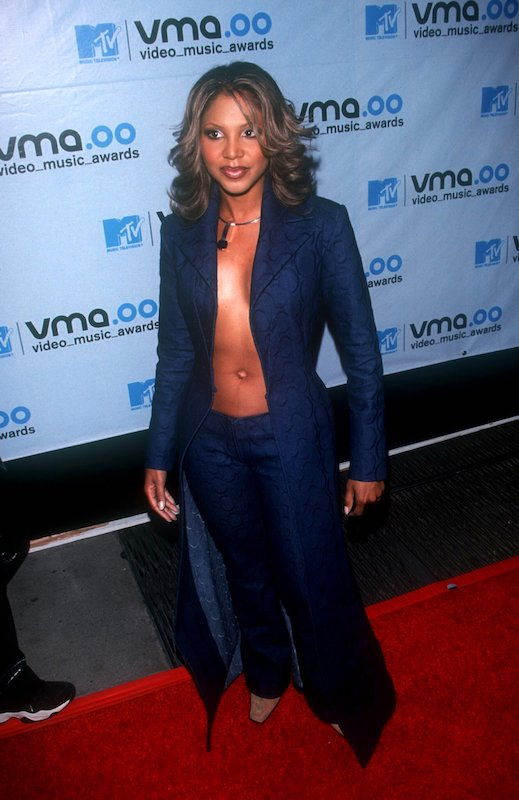 Toni Braxton in 2000