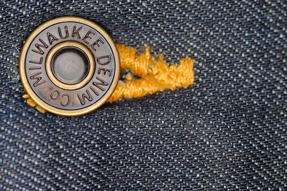 button on jean
