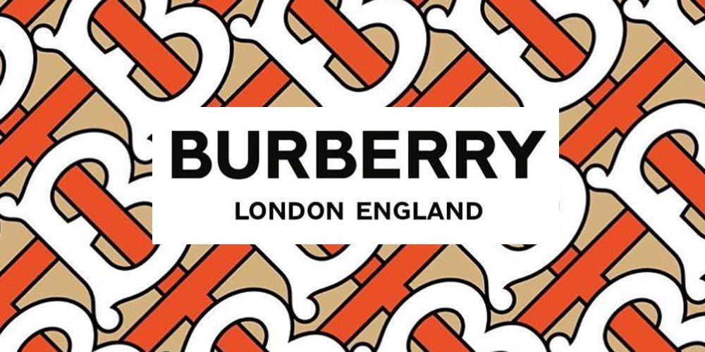 Burberry logo and monogram