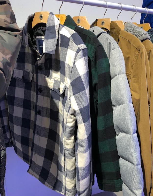 Men's flannel jackets
