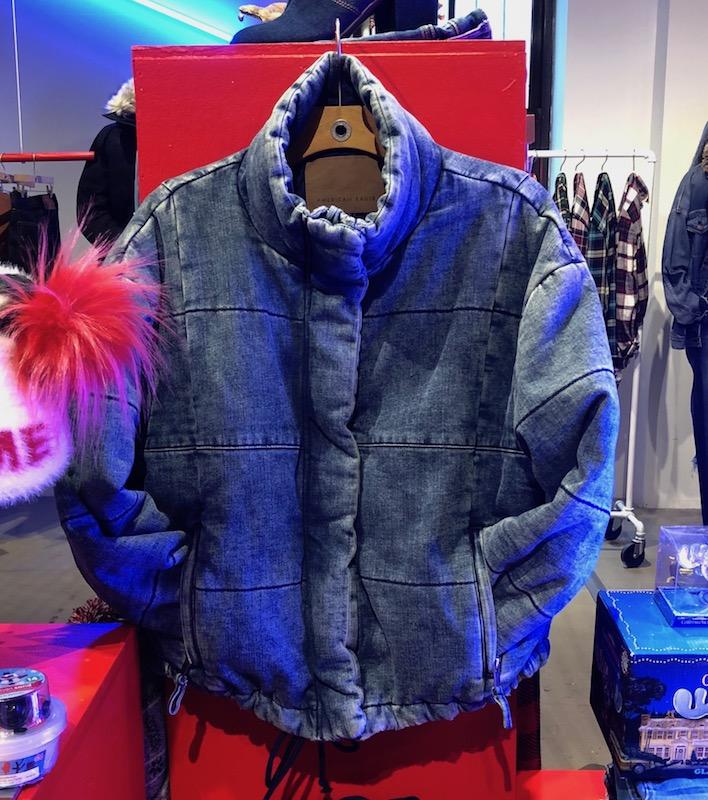 Retro bomber jacket