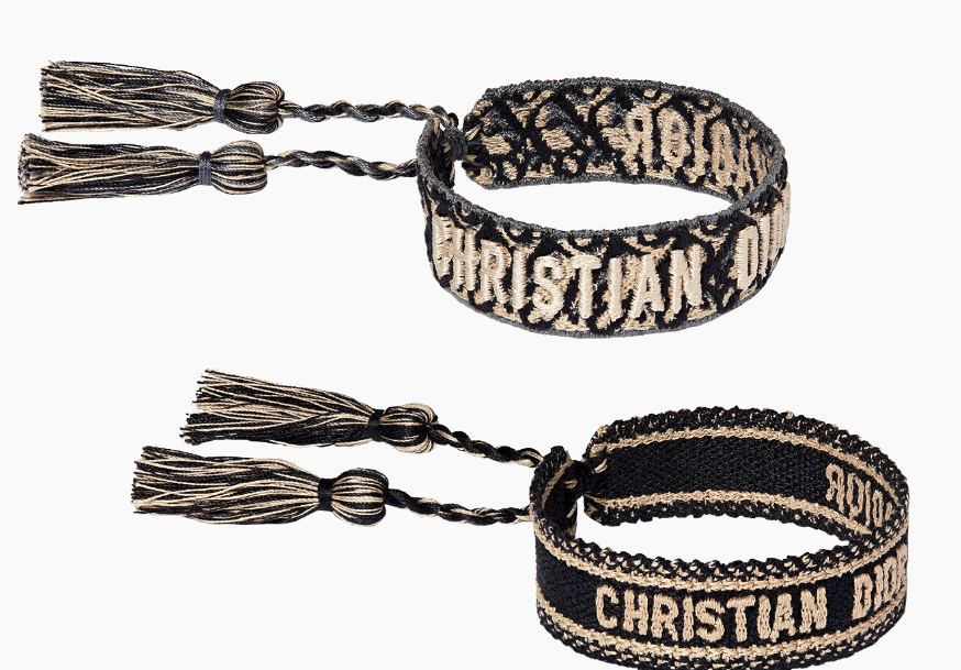 Christian Dior friendship bracelets