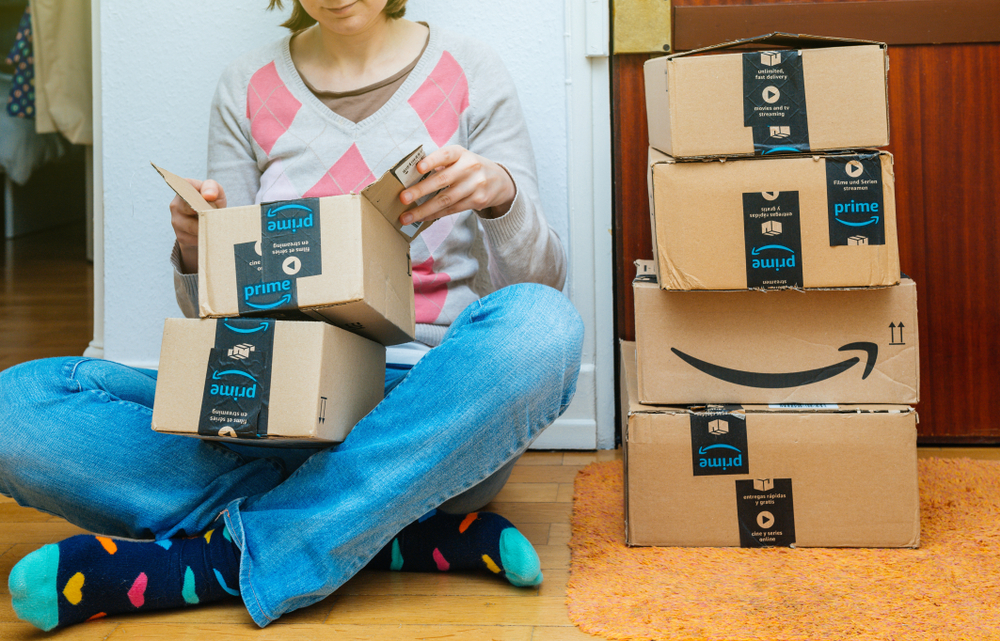 This many shoppers made impulses apparel and footwear Prime Day purchases.