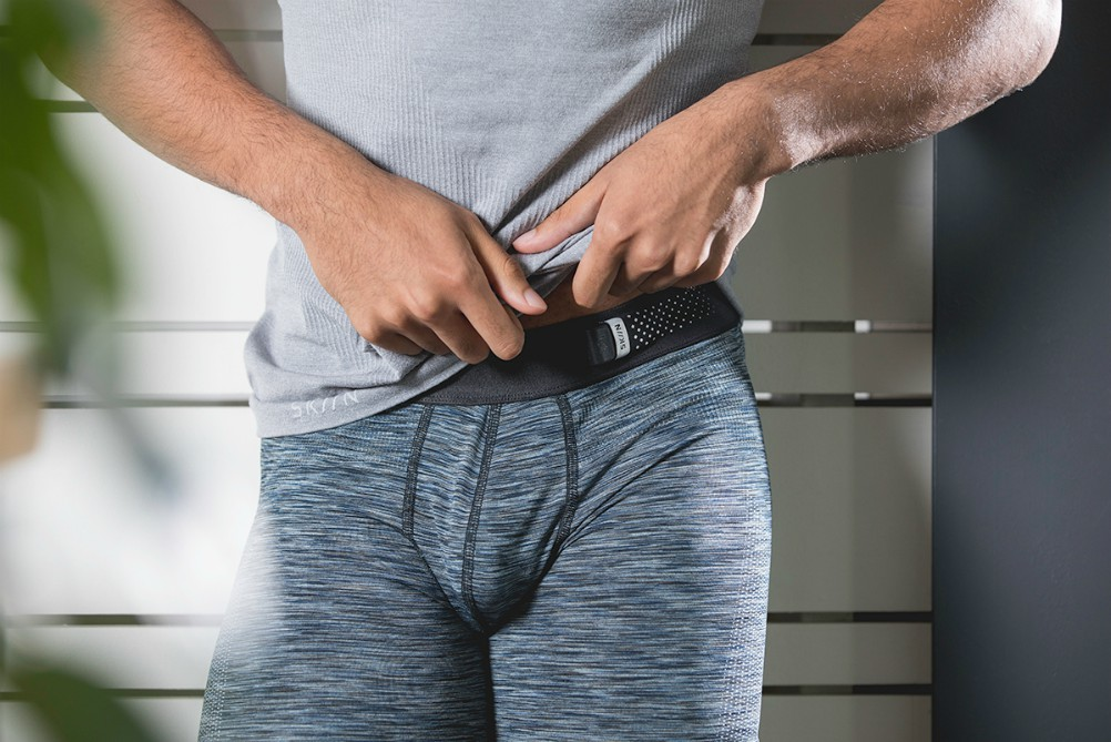 The Canadian company came up with underwear that monitors vital signs.