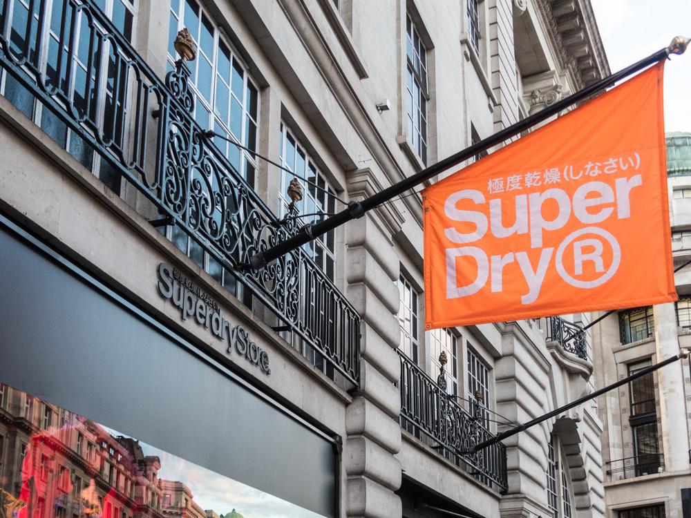 Superdry is taking center stage in the Brexit debate.