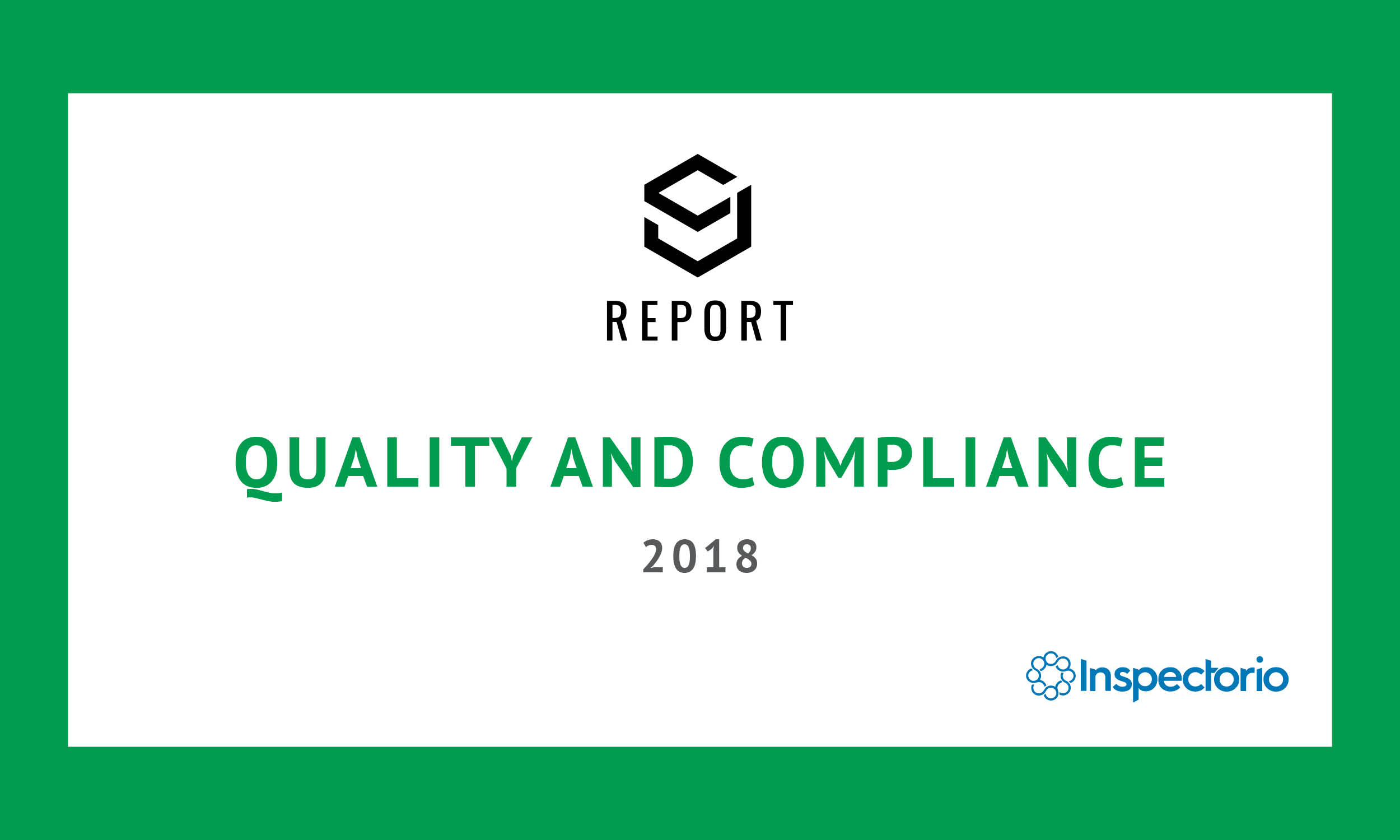 SJ Report: Quality and Compliance