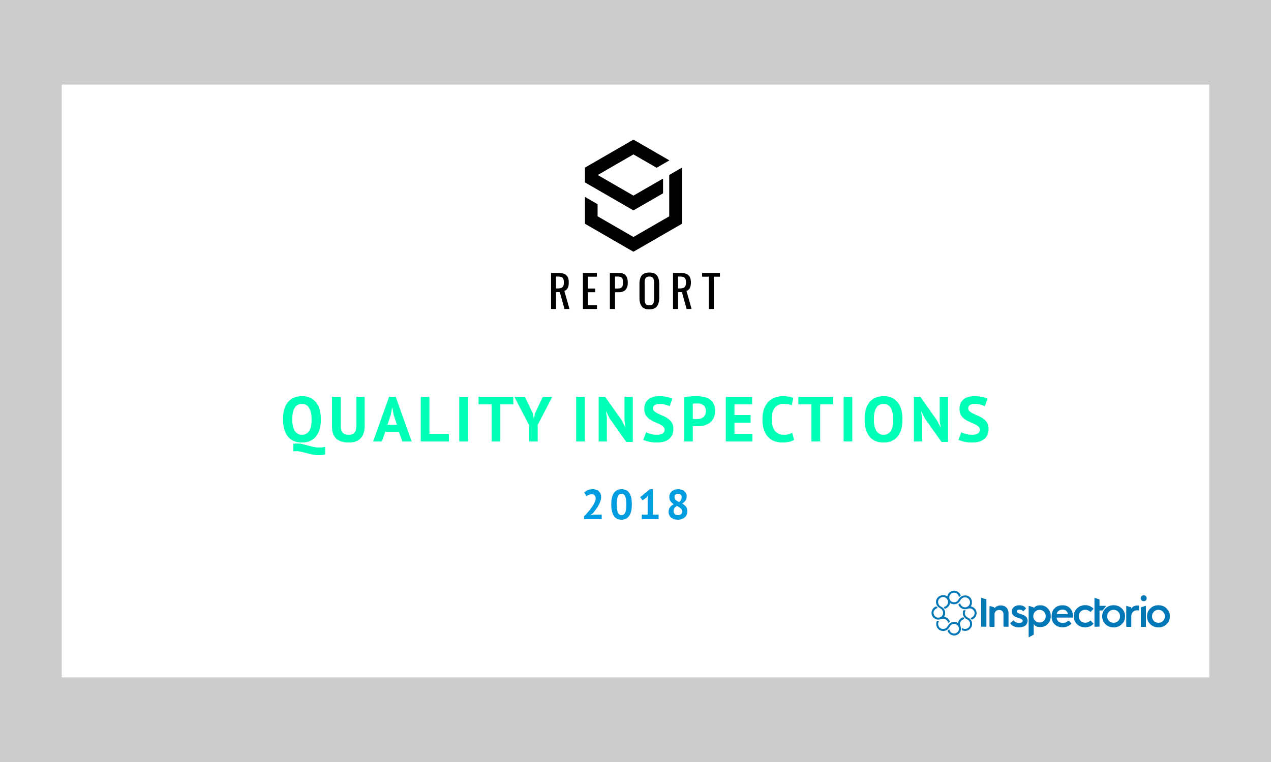SJ Report: Quality Inspections