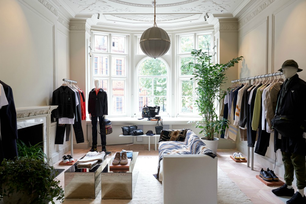 The townhouse has already played host to a slow fashion discussion featuring sustainability-minded Swiss designer Kévin Germanier and Livia Firth, founder and creative director of consultancy Eco Age, and British designer Richard Quinn is scheduled to share insights on his Spring/Summer '19 collection the week of Sept. 17.