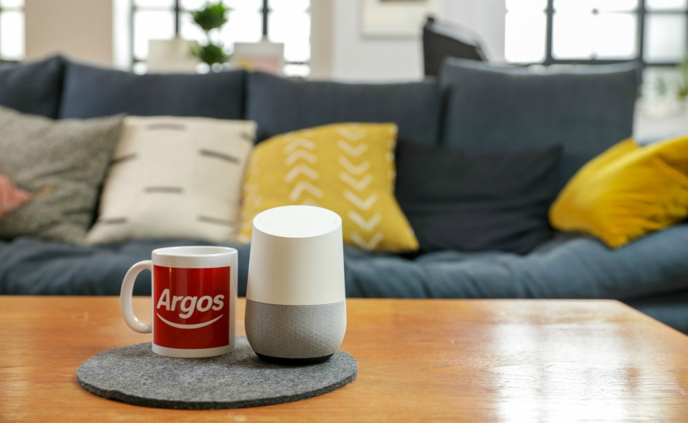 Argos launched a Voice Shop with Google Assistant.