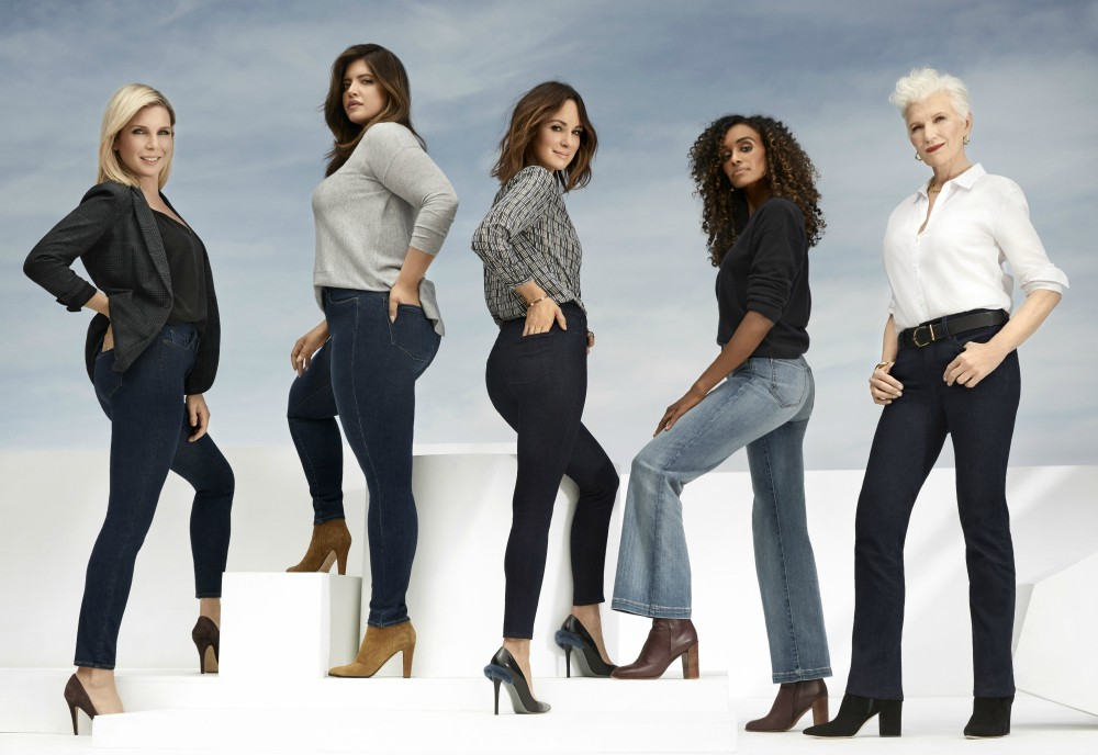 NYDJ is renewing its commitment to size inclusivity by featuring five unique women in a new ad campaign for its 15th anniversary.