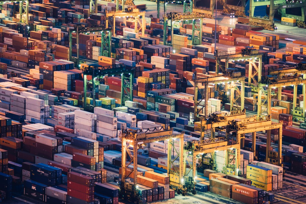 China's ports serving Shanghai and Guangdong will soon use AI and blockchain-based tech to expedite clearance.