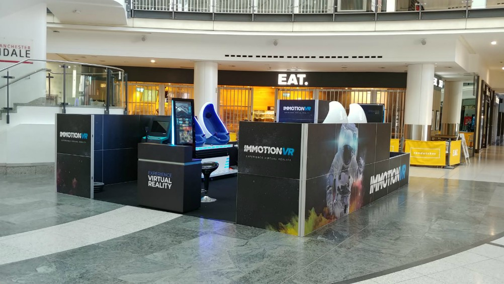 Shopping mall owner intu is expanding its deployment of ImmotionVR experiences, hoping to attract footfall.